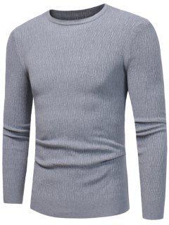 Jersey De Cuello Alto Para Mujer - Gris Xl