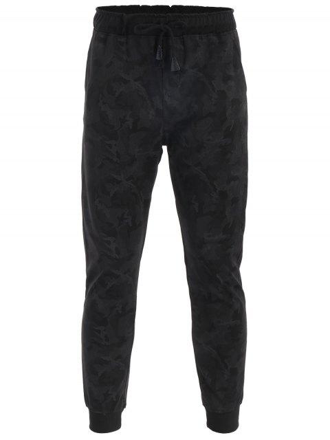 Pantalones de tirantes con cordones de impresión Camo - ACU Camuflaje 2XL Mobile
