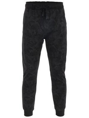 Pantalons de jogger à imprimé Camou