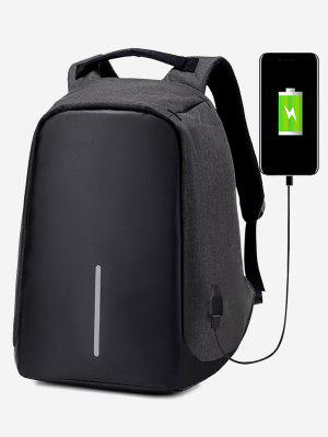 Straight Line USB Charging Port Backpack