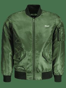Verde Bombardero 2xl Hombres Ejercito Para Reversible De Chaqueta Yw4655