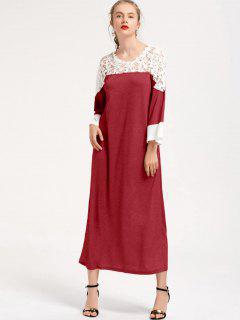 Robe Maxi - Rouge M