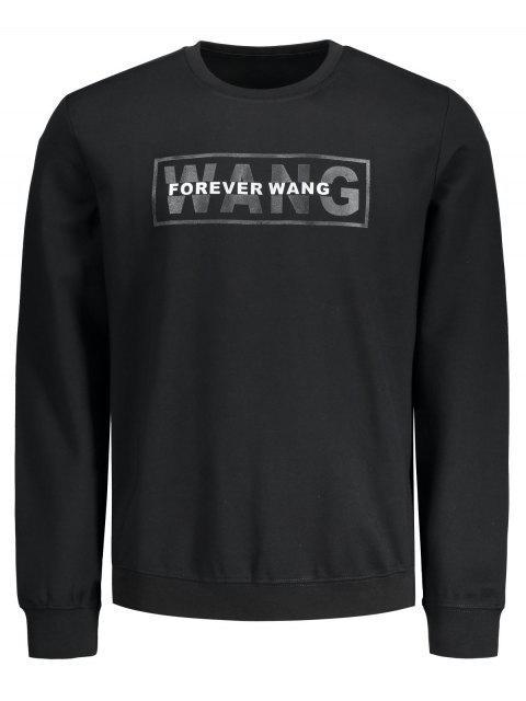 Grafik für immer Wang Sweatshirt - Schwarz L Mobile