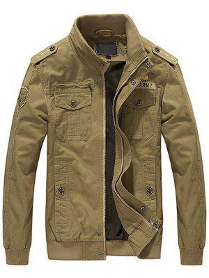 Patch Bestickte Jacke Für Männer