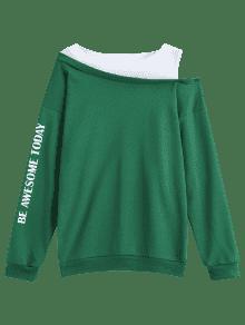 Hombro Tonos Fr Camiseta Verde 237;a Dos De Xl pTaRWnwqXH