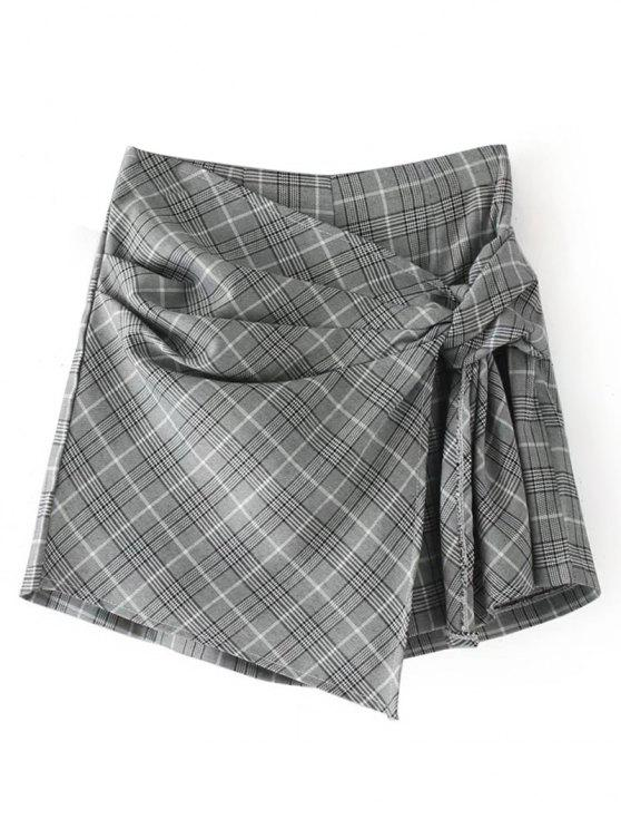 Knots Checked Skorts - Verificado L