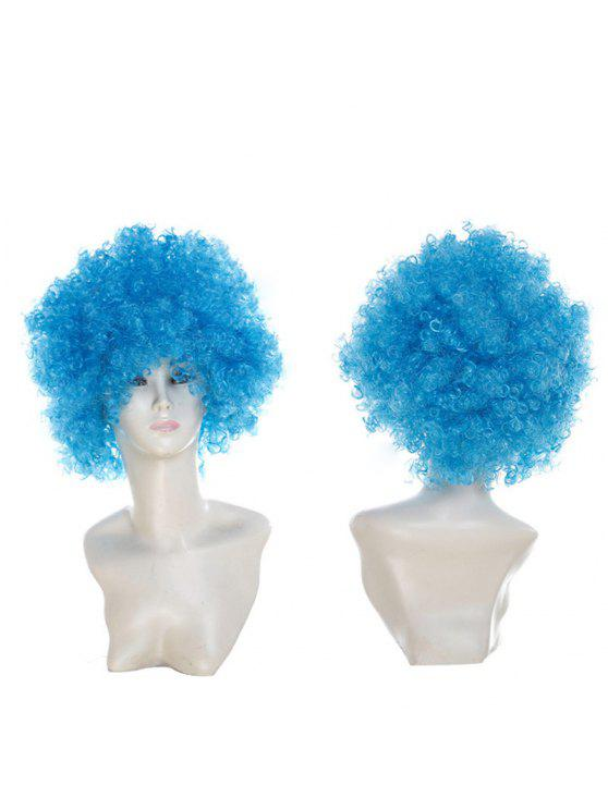 للنساء شعر مستعار مجعد قصير - وندسور الأزرق