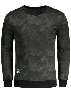 Camouflage Sweatshirt - Camo 2xl
