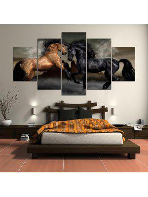 Horses Printed Wall Art Unframed Canvas Paintings