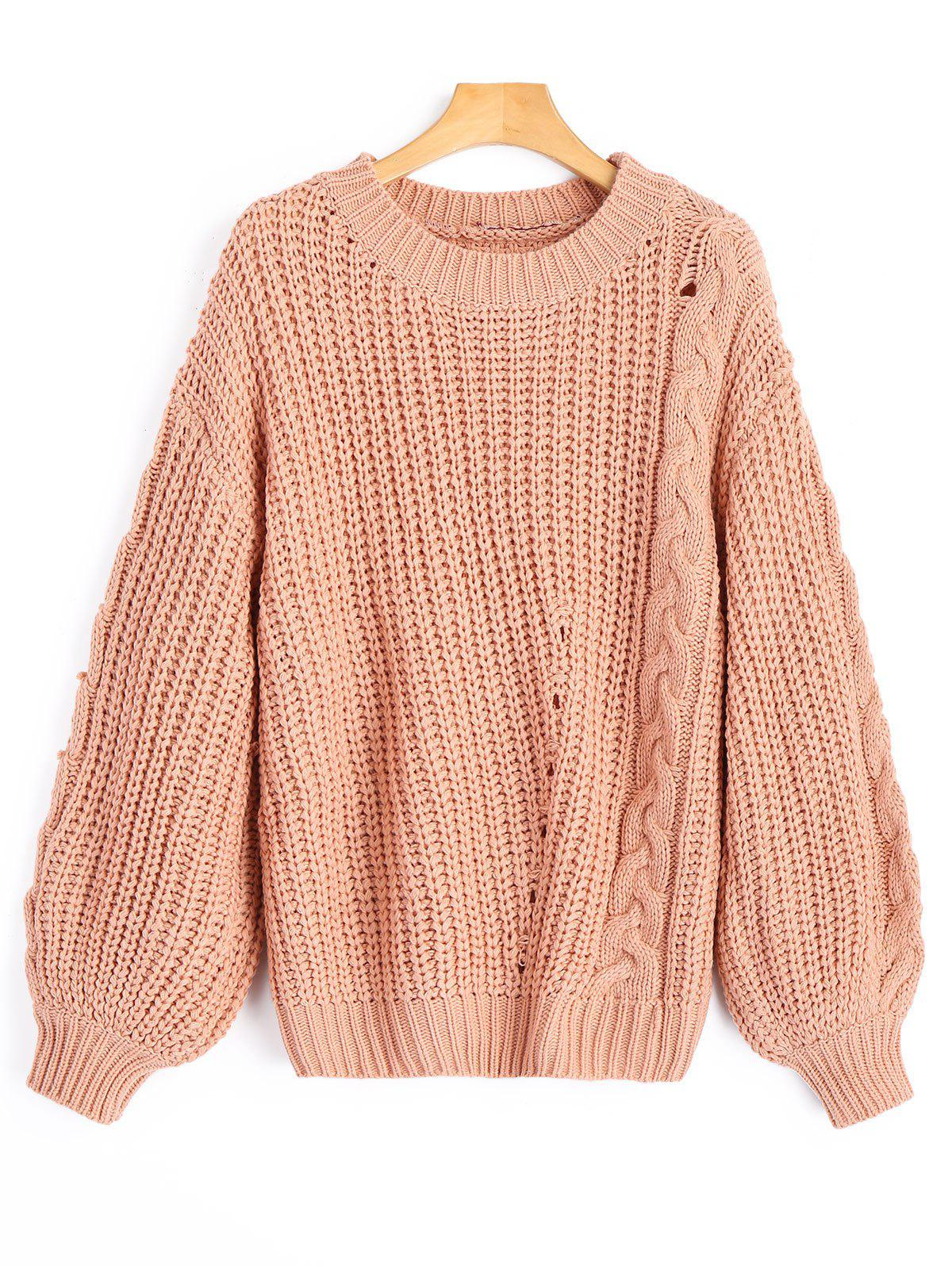 Cable Knit Chunky Sweater 230412501