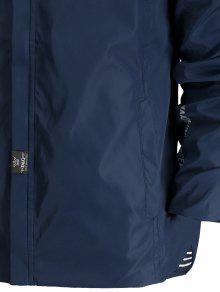 Azul Cordones Con Con 4xl Capucha Chaqueta Cremallera gX04x0W