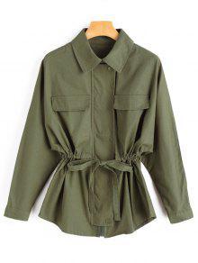 Casaco De Cintura Cintura - Verde S