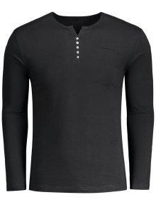 Camiseta Embellecida Del Polo - Negro Xl