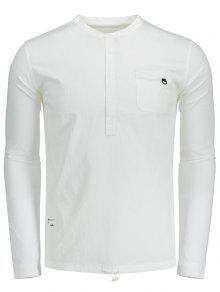 243;n Bot La Blanco Letra Del 3xl Camisa De Medio wXx5qCYO