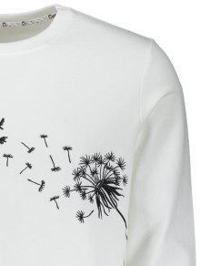 Los La Xl Camiseta Salvajes Gansos Bordaron Blanco qx8qCa7w1