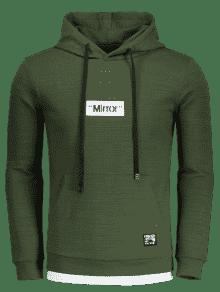 Graphic Mirror Xl Verde Hoodie Pullover Pd7q18xwP