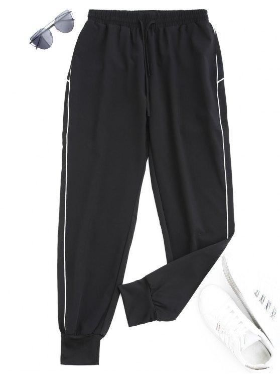 Pantalons de jogger sports de cordon - Blanc XL