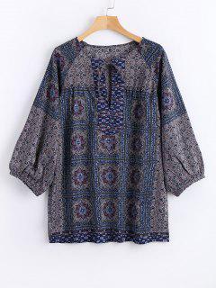 Blusa De Cordón De Cordón Suelto - Xl