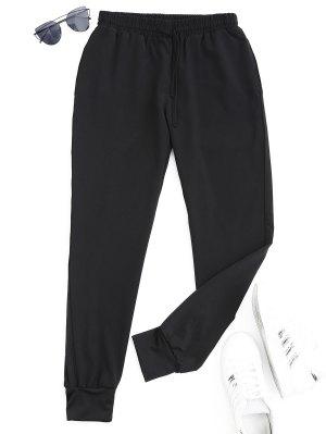 Pantalones deportivos deportivos con cordón