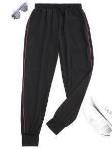 Pantalones Deportivos Deportivos Con Cordón - Cientos De Fructosa S