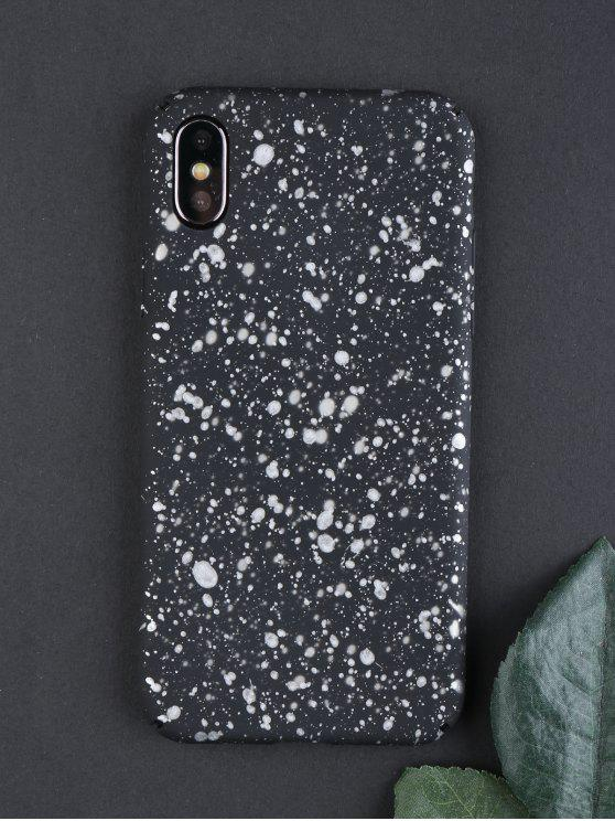 Starry Sky Pattern Phone Case para Iphone - Branco de prata Para iPhone X