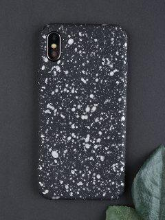 Starry Sky Pattern Phone Case For Iphone - Silver White For Iphone X