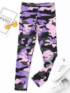 Active Camo Leggings - Acu Camouflage S