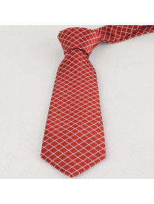 خمر، متقلب، إقتدى، نحيل، ربطة العنق - أحمر