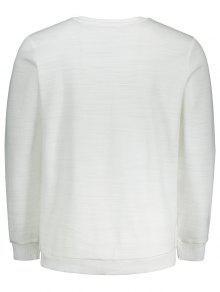 Impresi Blanco Abstracta Sudadera 243;n 3xl 1qUP160Z
