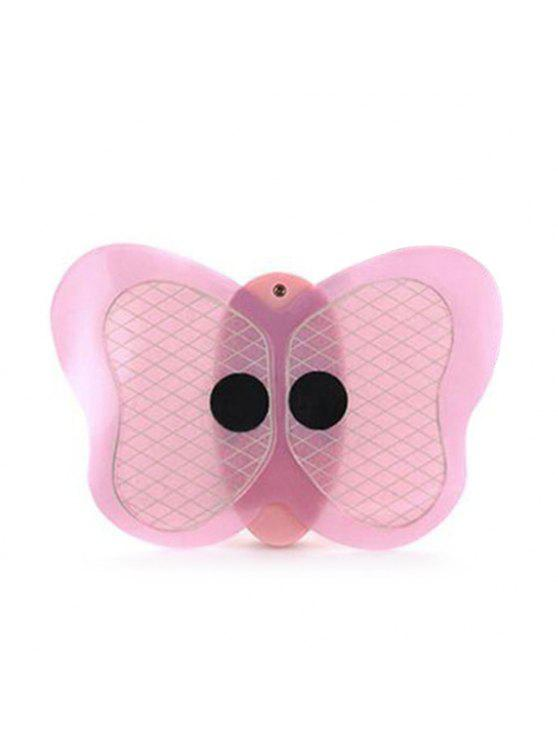 Body Muscle adelgazar pulso sin cuerda Mini Butterfly Massager - Rosa