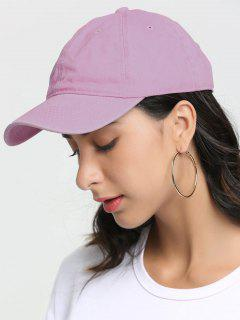 Outdoor Lines Embroidered Baseball Hat - Pink