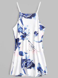Floral Print Mini Cami Sundress - Floral M