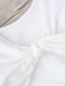 De Cuadros Escoceses 4xl Con Grande De Talla Anudado Blanco Bikini Parte Abajo Cn8g0UqCxw