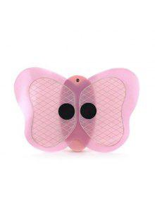 Body Muscle Slimming Pulse Cordless Mini Butterfly Massager - Rosa