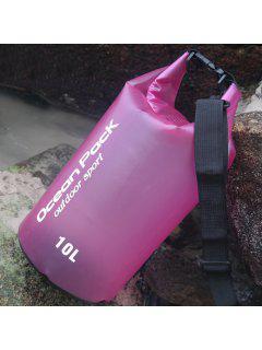 Sac à Godet Imperméable à L'eau De Sport Extérieur - Rose Foncé
