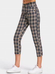 Back Faux Pocket Pantalones Capri Verificado - Comprobado S