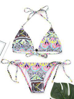 Haut De Bikini Dos Nu Avec String Bikini - S