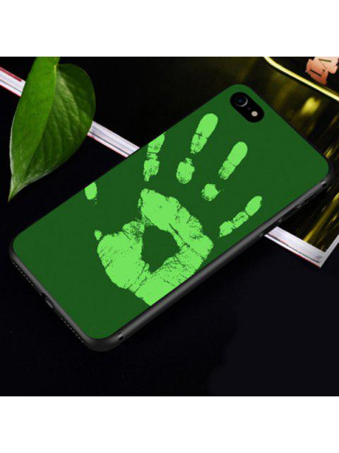 lady Heat Sensitive Soft Phone Case For Iphone - GREEN FOR IPHONE 6 PLUS / 6S PLUS Mobile