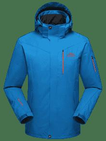Chaqueta Polar Forrado Con Polar Forro Capucha Azul 4xl qAraxq7E