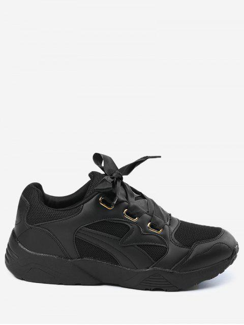 latest Breathable Athletic Shoes - BLACK 35 Mobile