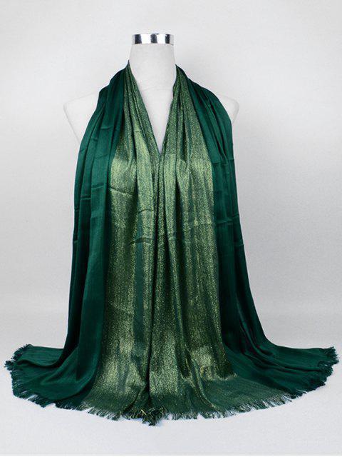 Bufanda larga de tono suave dorado - Guisante Verde  Mobile