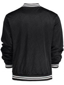B 233;isbol De 3xl Chaqueta Negro Patched Badge 8qwnn5E4