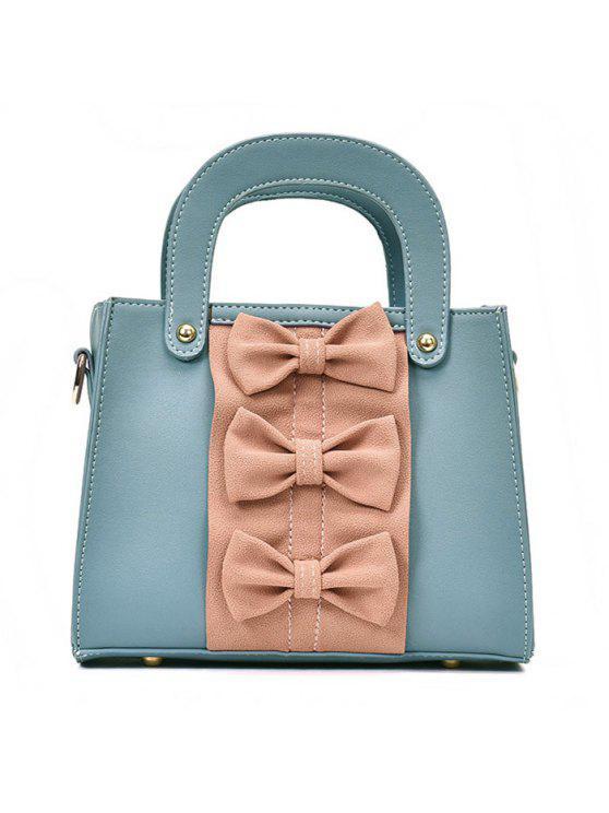 حقيبة يد بلون القوس - أزرق