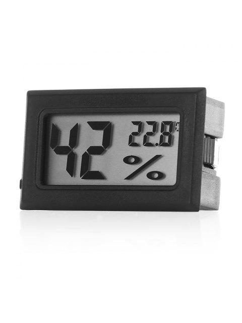 Temperatursensor Mini Digitales LCD Thermometer Hygrometer - Schwarz  Mobile