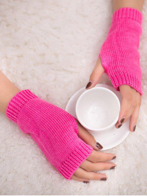 Guantes sin dedos de ganchillo de invierno - Cientos de Fructosa  Mobile