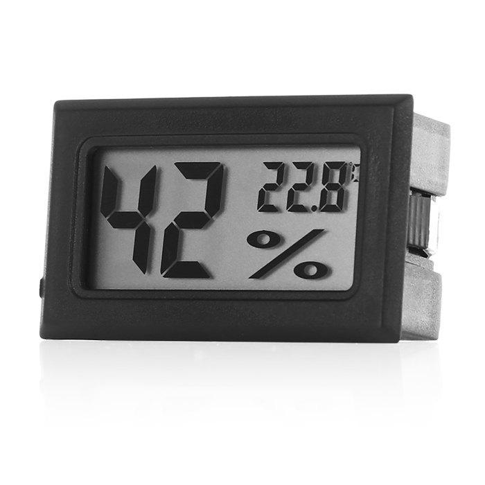 Temperature Sensor Mini Digital LCD Thermometer Hygrometer