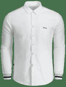 Bordado Bot Con 243;n Camisa De Mosca Blanco De 3xl Carta Con 7f55aWFq