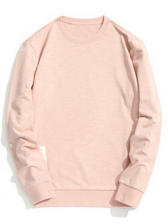 An everyday crew neck sweatshirt with raglan sleeves for a vintage-inspired look.