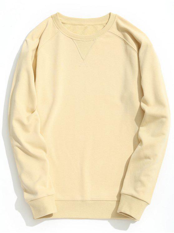 Slim Fit Crew Neck Sweatshirt - Damasco XL
