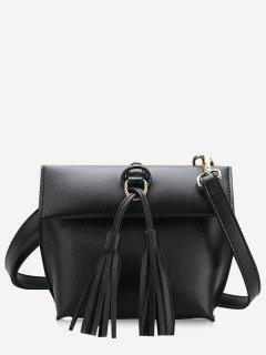Tassels Crossbody Bag - Black